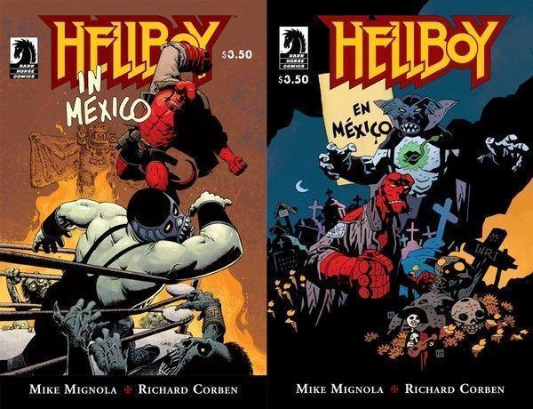 Hellboy in Mexico : dans les deux coins du ring !