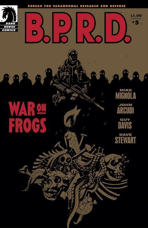 B.P.R.D. War On Frogs #5
