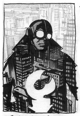 Lobster Johnson, Hard-Boiled et Platonicien.