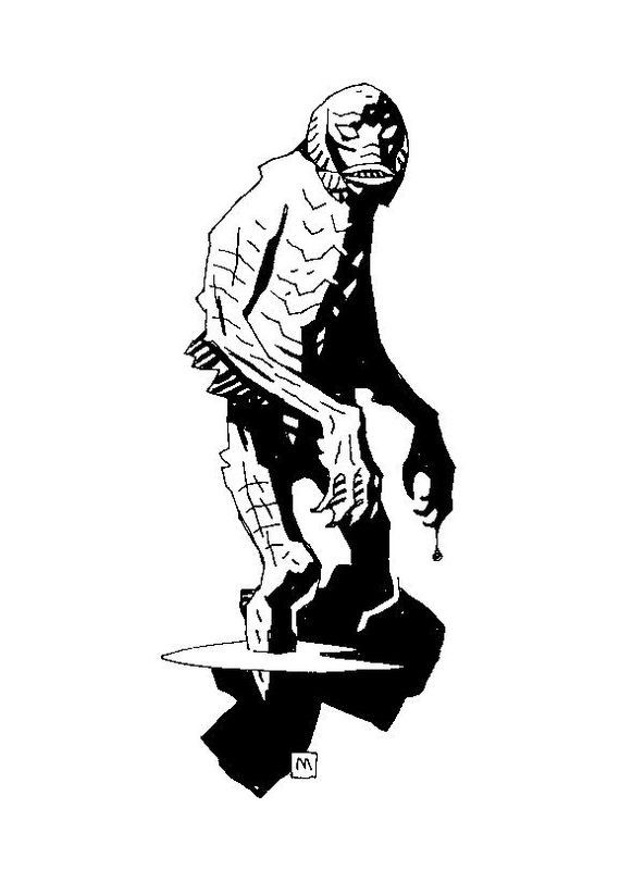 Creature from the Black Lagoon by Mike Mignola