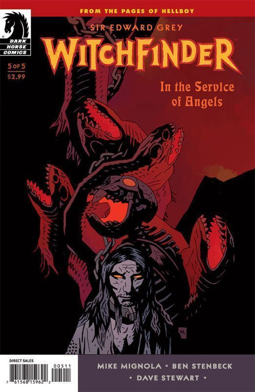 In the Service of Angels #5 [Cover dfinitive]