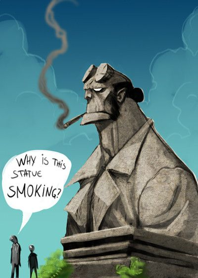 Hellboy par Drazebot