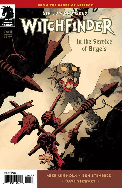 In the Service of Angels #4 [Cover dfinitive]
