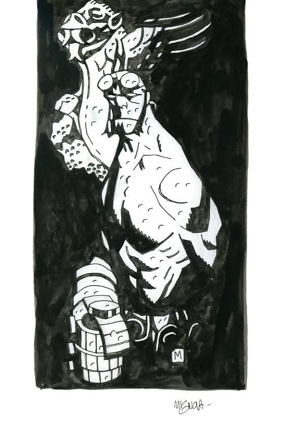 Packaging Art - Hellboy