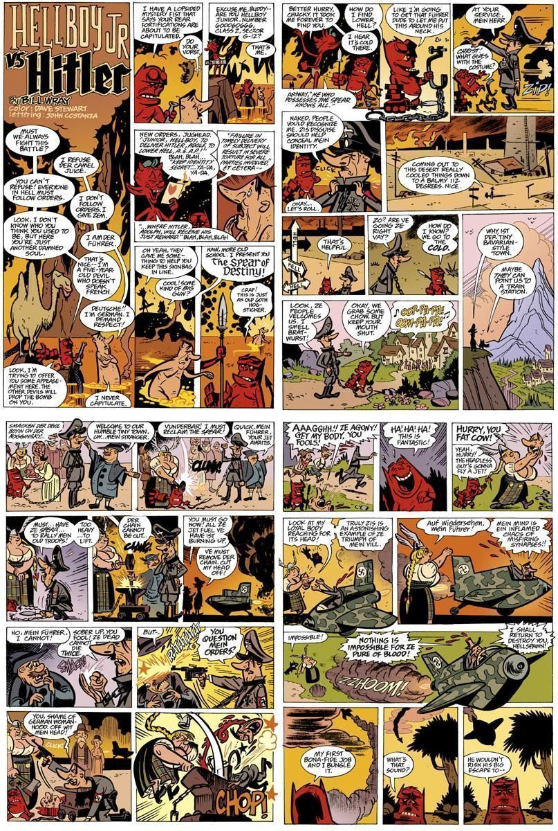 Hellboy Junior - Extrait